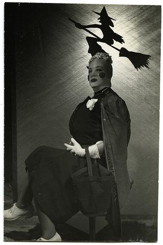 vintage woman costume