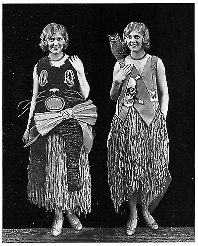 Vintage woman's costume
