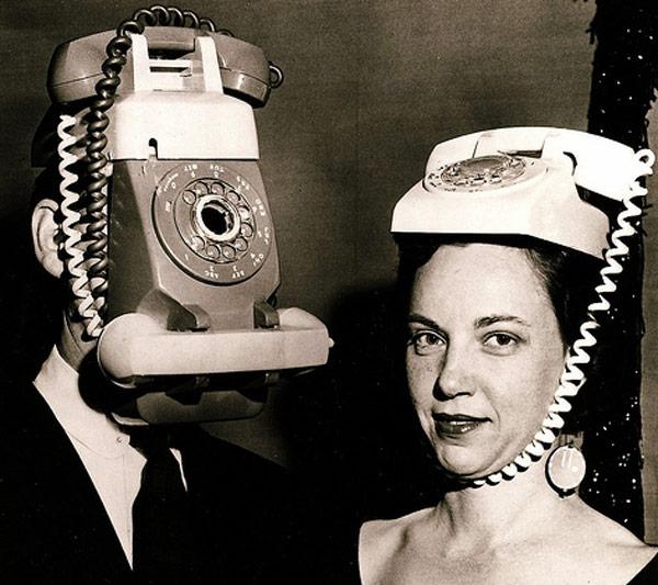 vintage phone costume